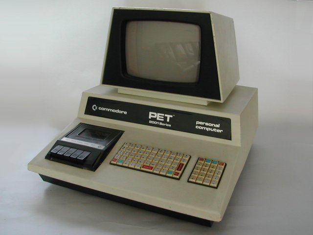 Commodore Info Page - Computer: Commodore PET - 2001 [en]