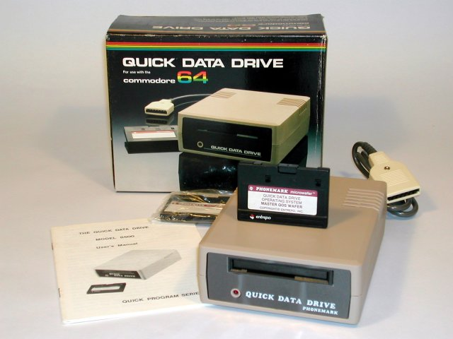 Commodore Info Page - Datassette: Quick Data Drive [en]