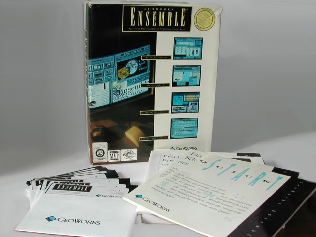 Commodore Info Page Diskette Geoworks Ensemble En