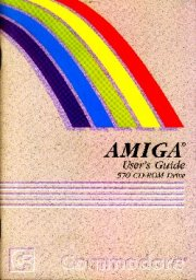 AMIGA User's Guide 570 CD-ROM Drive