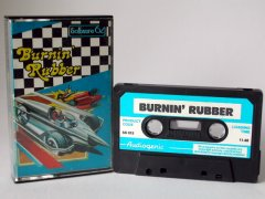 Commodore C64 game (cassette): Burnin' Rubber