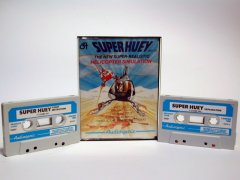 Commodore C64 game (cassette): Super Huey UH-1X