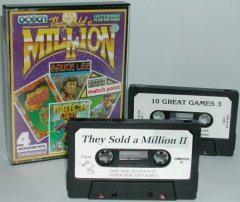 Commodore C64 game compilation (cassette): They sold a Million II