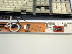 Hacking the keyboard for the C64 DTV-1 (NTSC).