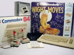 Commodore C64c Night Moves