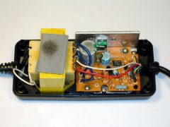 The inside of the Commodore Max Machine power supply.