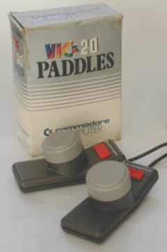 Commodore VIC-20 paddles.