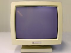 The front side of the Commodore 1403 monitor.