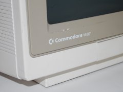 The logo of the Commodore 1407 monitor.