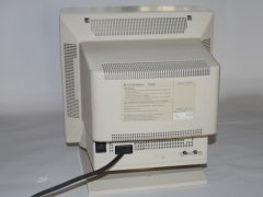 The rear side of the Commodore 1930 monitor.