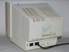 The rear side of the Commodore 1935 monitor.