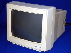 The Amiga Technologies M1438S monitor.