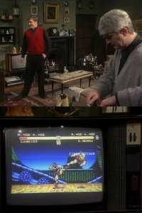 A Commodore Amiga 600 in the TV-series Father Ted.