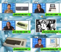A Commodore PET 2001, VIC-20, C64 and the Amiga in the on-line series Play Value.