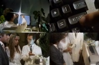 A Commodore C64 computer and a 1541 disk drive in the music video Savage - Only You.