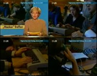 A Commodore C64 in the German TV news: Tagesschau.