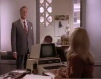 A Commodore CBM / PET computer in the TV-series Tales of the City.