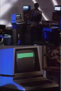 Commodore PET / CBM in music video: Trans-X, Living on Video
