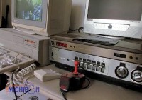 An Amiga 2000 computer, A2002 monitor and Speedking joystick in the TV serie Under the Radar Michigan.