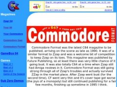 Commodore Format magazine