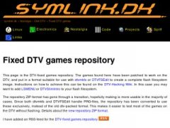 Fixed DTV games repository