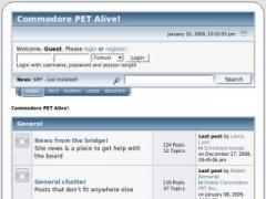 Commodore PET Alive! forum