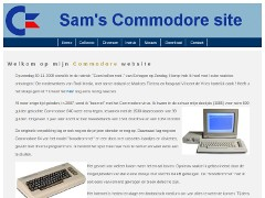 Sam's Commodore Site