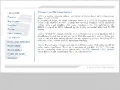 UAE Amiga Emulator