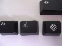 Amiga key caps