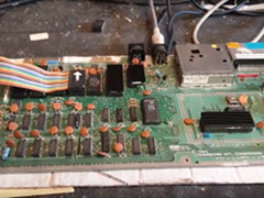 Cainers Commodore Capers - C64 Reparatur