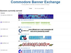 Commodore 8bit Banner Exchange