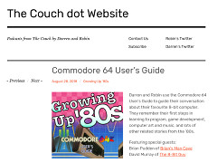 The Couch podcast - C64 User's Guide