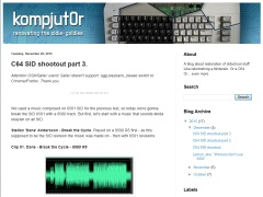 Kompjut0r - SID 8580, ArmSID, SwinSID Ultimate & SwinSID Nano
