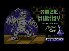 Maze Of The Mummy - C64