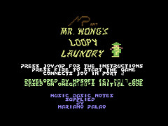 Mr. Wong's Loopy Laundry - C64