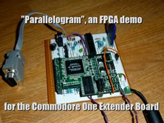 Parallelogram - C-One extender board