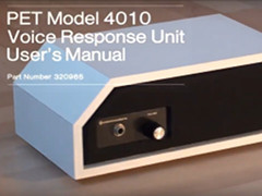Rob Clarke - PET 4010 Voice Response Unit