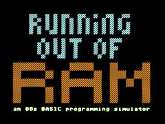 Running out of RAM - C64