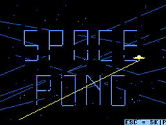 Space Pong - Plus/4