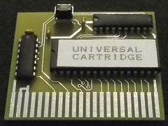 Universal C64 cartridge - 256 KB ROM