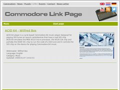 Commodore Link Page
