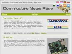 Commodore News Page