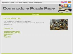 Commodore Puzzle Page