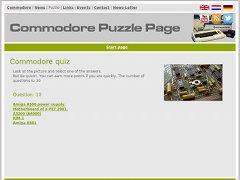 Commodore Puzzle Page